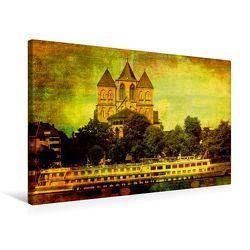 Premium Textil-Leinwand 75 x 50 cm Quer-Format Köln | Wandbild, HD-Bild auf Keilrahmen, Fertigbild auf hochwertigem Vlies, Leinwanddruck von Gabi Siebenhühner