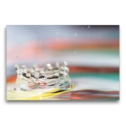 Premium Textil-Leinwand 75 x 50 cm Quer-Format Krone | Wandbild, HD-Bild auf Keilrahmen, Fertigbild auf hochwertigem Vlies, Leinwanddruck von Linda Geisdorf