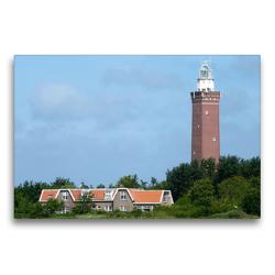 Premium Textil-Leinwand 75 x 50 cm Quer-Format Leuchtturm | Wandbild, HD-Bild auf Keilrahmen, Fertigbild auf hochwertigem Vlies, Leinwanddruck von Susanne Herppich