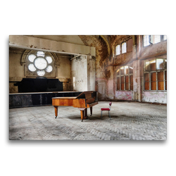 Premium Textil-Leinwand 75 x 50 cm Quer-Format Lost Places – Daylight | Wandbild, HD-Bild auf Keilrahmen, Fertigbild auf hochwertigem Vlies, Leinwanddruck von N N