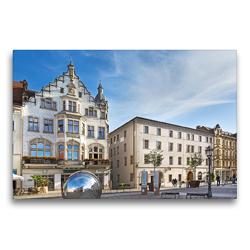 Premium Textil-Leinwand 75 x 50 cm Quer-Format Lutherstadt Wittenberg | Wandbild, HD-Bild auf Keilrahmen, Fertigbild auf hochwertigem Vlies, Leinwanddruck von U boeTtchEr