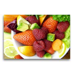 Premium Textil-Leinwand 75 x 50 cm Quer-Format Meine Ernährung mit Rohkost und Co.: So esse ich mich gesund! | Wandbild, HD-Bild auf Keilrahmen, Fertigbild auf hochwertigem Vlies, Leinwanddruck von Rose Hurley