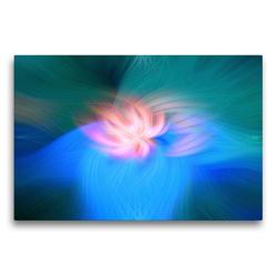 Premium Textil-Leinwand 75 x 50 cm Quer-Format Menschlichkeit und Hoffnung | Wandbild, HD-Bild auf Keilrahmen, Fertigbild auf hochwertigem Vlies, Leinwanddruck von Monika Altenburger