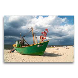 Premium Textil-Leinwand 75 x 50 cm Quer-Format Misdroy | Wandbild, HD-Bild auf Keilrahmen, Fertigbild auf hochwertigem Vlies, Leinwanddruck von Peter Schickert