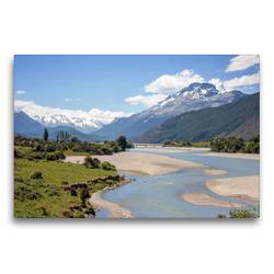 Premium Textil-Leinwand 75 x 50 cm Quer-Format Mount Alfred   Wandbild, HD-Bild auf Keilrahmen, Fertigbild auf hochwertigem Vlies, Leinwanddruck von frasy Photography