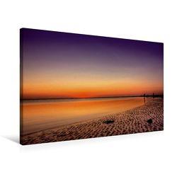 Premium Textil-Leinwand 75 x 50 cm Quer-Format Nach Sonnenuntergang | Wandbild, HD-Bild auf Keilrahmen, Fertigbild auf hochwertigem Vlies, Leinwanddruck von Roland Störmer von Störmer,  Roland