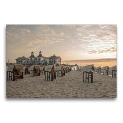 Premium Textil-Leinwand 75 x 50 cm Quer-Format Ostsee. Urlaubsfeeling pur | Wandbild, HD-Bild auf Keilrahmen, Fertigbild auf hochwertigem Vlies, Leinwanddruck von Andrea Potratz