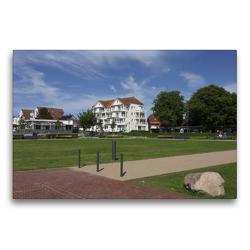 Premium Textil-Leinwand 75 x 50 cm Quer-Format Park Impression | Wandbild, HD-Bild auf Keilrahmen, Fertigbild auf hochwertigem Vlies, Leinwanddruck von Tanja Riedel