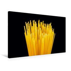 Premium Textil-Leinwand 75 x 50 cm Quer-Format Pasta | Wandbild, HD-Bild auf Keilrahmen, Fertigbild auf hochwertigem Vlies, Leinwanddruck von Thomas Jäger von Jaeger,  Thomas