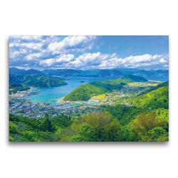 Premium Textil-Leinwand 75 x 50 cm Quer-Format Picton | Wandbild, HD-Bild auf Keilrahmen, Fertigbild auf hochwertigem Vlies, Leinwanddruck von Minh Dehn