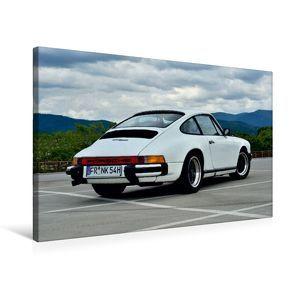 Premium Textil-Leinwand 75 x 50 cm Quer-Format Porsche 911SC – zwei starke Typen | Wandbild, HD-Bild auf Keilrahmen, Fertigbild auf hochwertigem Vlies, Leinwanddruck von Ingo Laue von Laue,  Ingo
