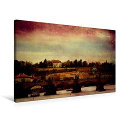 Premium Textil-Leinwand 75 x 50 cm Quer-Format Prager Stillleben | Wandbild, HD-Bild auf Keilrahmen, Fertigbild auf hochwertigem Vlies, Leinwanddruck von Heike Hultsch von Hultsch,  Heike