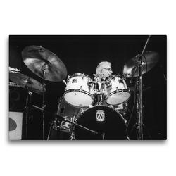 Premium Textil-Leinwand 75 x 50 cm Quer-Format Randy Jones (Schlagzeug) | Wandbild, HD-Bild auf Keilrahmen, Fertigbild auf hochwertigem Vlies, Leinwanddruck von Klaus Rohwer