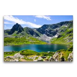 Premium Textil-Leinwand 75 x 50 cm Quer-Format RILA | Wandbild, HD-Bild auf Keilrahmen, Fertigbild auf hochwertigem Vlies, Leinwanddruck von Sina Georgiev-Bröhl