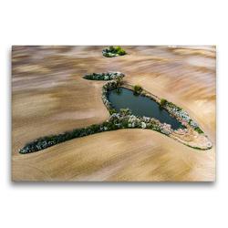 Premium Textil-Leinwand 75 x 50 cm Quer-Format Rothsee | Wandbild, HD-Bild auf Keilrahmen, Fertigbild auf hochwertigem Vlies, Leinwanddruck von Daniela Kloth & Ralf Roletschek