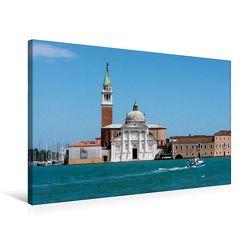 Premium Textil-Leinwand 75 x 50 cm Quer-Format S.Giorgio Maggiore | Wandbild, HD-Bild auf Keilrahmen, Fertigbild auf hochwertigem Vlies, Leinwanddruck von Thomas Jäger