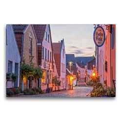 Premium Textil-Leinwand 75 x 50 cm Quer-Format Schleswig Holm | Wandbild, HD-Bild auf Keilrahmen, Fertigbild auf hochwertigem Vlies, Leinwanddruck von Stephan Käufer