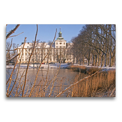 Premium Textil-Leinwand 75 x 50 cm Quer-Format Schloss Gottorf | Wandbild, HD-Bild auf Keilrahmen, Fertigbild auf hochwertigem Vlies, Leinwanddruck von Stephan Käufer