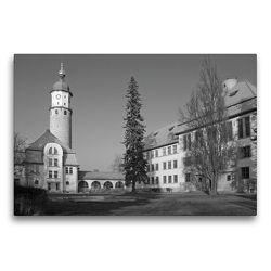 Premium Textil-Leinwand 75 x 50 cm Quer-Format Schlossruine Neideck | Wandbild, HD-Bild auf Keilrahmen, Fertigbild auf hochwertigem Vlies, Leinwanddruck von Flori0