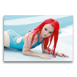 Premium Textil-Leinwand 75 x 50 cm Quer-Format Sommermädchen – Sexy Summer Girls | Wandbild, HD-Bild auf Keilrahmen, Fertigbild auf hochwertigem Vlies, Leinwanddruck von Andy Bulls