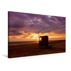 Premium Textil-Leinwand 75 x 50 cm Quer-Format Strand | Wandbild, HD-Bild auf Keilrahmen, Fertigbild auf hochwertigem Vlies, Leinwanddruck von Roland Störmer von Störmer,  Roland