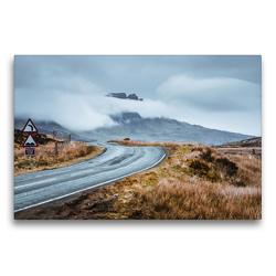 Premium Textil-Leinwand 75 x 50 cm Quer-Format Straßen von Skye   Wandbild, HD-Bild auf Keilrahmen, Fertigbild auf hochwertigem Vlies, Leinwanddruck von Fabian Zocher