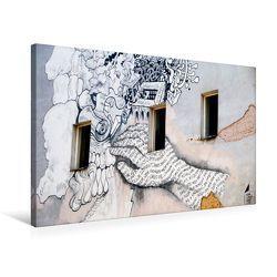 Premium Textil-Leinwand 75 x 50 cm Quer-Format Streetart | Wandbild, HD-Bild auf Keilrahmen, Fertigbild auf hochwertigem Vlies, Leinwanddruck von Helene Seidl von Seidl,  Helene