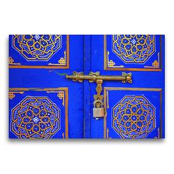 Premium Textil-Leinwand 75 x 50 cm Quer-Format Türdetail | Wandbild, HD-Bild auf Keilrahmen, Fertigbild auf hochwertigem Vlies, Leinwanddruck von Gabriele Gerner-Haudum