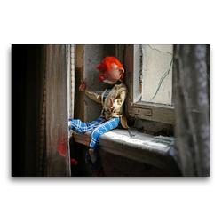 Premium Textil-Leinwand 75 x 50 cm Quer-Format Verlassen und versponnen | Wandbild, HD-Bild auf Keilrahmen, Fertigbild auf hochwertigem Vlies, Leinwanddruck von Flori0