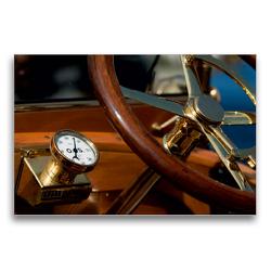 Premium Textil-Leinwand 75 x 50 cm Quer-Format Vintage cars | Wandbild, HD-Bild auf Keilrahmen, Fertigbild auf hochwertigem Vlies, Leinwanddruck von Martina Marten
