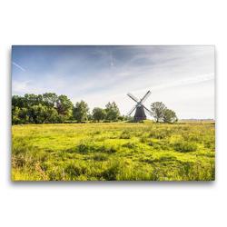 Premium Textil-Leinwand 75 x 50 cm Quer-Format Wasserschöpfmühle Wynhamsterkolk | Wandbild, HD-Bild auf Keilrahmen, Fertigbild auf hochwertigem Vlies, Leinwanddruck von Conny Pokorny