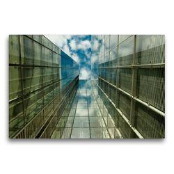 Premium Textil-Leinwand 75 x 50 cm Quer-Format Wolkenkratzer | Wandbild, HD-Bild auf Keilrahmen, Fertigbild auf hochwertigem Vlies, Leinwanddruck von Dirk Grasse