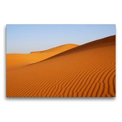 Premium Textil-Leinwand 75 x 50 cm Quer-Format Wüste in Erg Chebbi | Wandbild, HD-Bild auf Keilrahmen, Fertigbild auf hochwertigem Vlies, Leinwanddruck von Askson Vargard