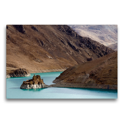 Premium Textil-Leinwand 75 x 50 cm Quer-Format Yang Chu | Wandbild, HD-Bild auf Keilrahmen, Fertigbild auf hochwertigem Vlies, Leinwanddruck von Katja ledieS
