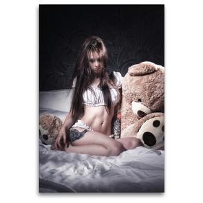 Premium Textil-Leinwand 80 x 120 cm Hoch-Format Alasca | Wandbild, HD-Bild auf Keilrahmen, Fertigbild auf hochwertigem Vlies, Leinwanddruck von Kai Zeminske
