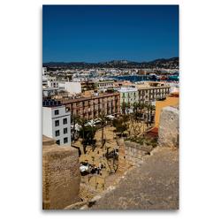 Premium Textil-Leinwand 80 x 120 cm Hoch-Format Blick auf den Plaça del Parc | Wandbild, HD-Bild auf Keilrahmen, Fertigbild auf hochwertigem Vlies, Leinwanddruck von Alexander Wolff