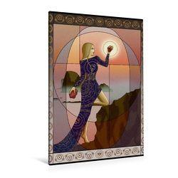 Premium Textil-Leinwand 80 x 120 cm Hoch-Format Der Lebensweg | Wandbild, HD-Bild auf Keilrahmen, Fertigbild auf hochwertigem Vlies, Leinwanddruck von Irene Repp