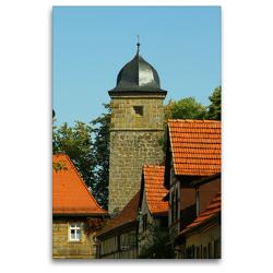 Premium Textil-Leinwand 80 x 120 cm Hoch-Format Diebsturm | Wandbild, HD-Bild auf Keilrahmen, Fertigbild auf hochwertigem Vlies, Leinwanddruck von Andrea Meister