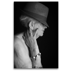 Premium Textil-Leinwand 80 x 120 cm Hoch-Format Glamour Stil   Wandbild, HD-Bild auf Keilrahmen, Fertigbild auf hochwertigem Vlies, Leinwanddruck von Andreas Vincke