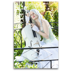 Premium Textil-Leinwand 80 x 120 cm Hoch-Format Grazioso   Wandbild, HD-Bild auf Keilrahmen, Fertigbild auf hochwertigem Vlies, Leinwanddruck von Ravienne Art