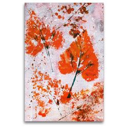 Premium Textil-Leinwand 80 x 120 cm Hoch-Format Herbstimpression | Wandbild, HD-Bild auf Keilrahmen, Fertigbild auf hochwertigem Vlies, Leinwanddruck von Barbara L.