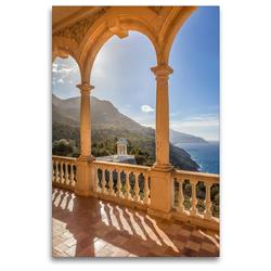 Premium Textil-Leinwand 80 x 120 cm Hoch-Format Herrenhaus Son Marroig auf Mallorca | Wandbild, HD-Bild auf Keilrahmen, Fertigbild auf hochwertigem Vlies, Leinwanddruck von Christian Müringer