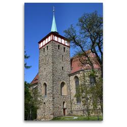 Premium Textil-Leinwand 80 x 120 cm Hoch-Format Michaeliskirchturm | Wandbild, HD-Bild auf Keilrahmen, Fertigbild auf hochwertigem Vlies, Leinwanddruck von Pia Thauwald