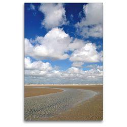 Premium Textil-Leinwand 80 x 120 cm Hoch-Format Priellandschaft   Wandbild, HD-Bild auf Keilrahmen, Fertigbild auf hochwertigem Vlies, Leinwanddruck von Susanne Herppich