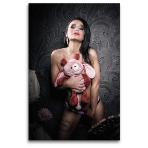 Premium Textil-Leinwand 80 x 120 cm Hoch-Format Sue | Wandbild, HD-Bild auf Keilrahmen, Fertigbild auf hochwertigem Vlies, Leinwanddruck von Kai Zeminske