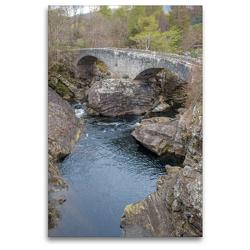 Premium Textil-Leinwand 80 x 120 cm Hoch-Format The Telford bridge | Wandbild, HD-Bild auf Keilrahmen, Fertigbild auf hochwertigem Vlies, Leinwanddruck von pixs:sell@Adobe Stock