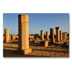 Premium Textil-Leinwand 90 x 60 cm Quer-Format Al-Baleed Archäologischen Park | Wandbild, HD-Bild auf Keilrahmen, Fertigbild auf hochwertigem Vlies, Leinwanddruck von Juergen Woehlke