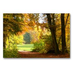 Premium Textil-Leinwand 90 x 60 cm Quer-Format Auf dem Gielsberg | Wandbild, HD-Bild auf Keilrahmen, Fertigbild auf hochwertigem Vlies, Leinwanddruck von GUGIGEI