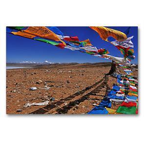 Premium Textil-Leinwand 90 x 60 cm Quer-Format Auf Pfaden der Erleuchtung   Wandbild, HD-Bild auf Keilrahmen, Fertigbild auf hochwertigem Vlies, Leinwanddruck von Gerhard Horter