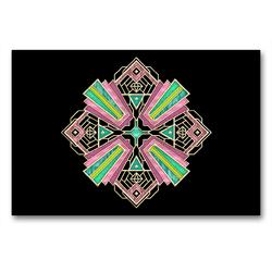 Premium Textil-Leinwand 90 x 60 cm Quer-Format Aufgefächert | Wandbild, HD-Bild auf Keilrahmen, Fertigbild auf hochwertigem Vlies, Leinwanddruck von Lucia